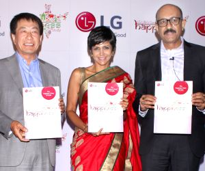 Mandira Bedi releases 'The LG Life's Good Happiness Study'