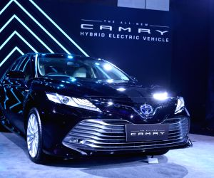 Toyota launches Camry Hybrid at Rs 36.95 lakh in India