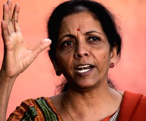 Press conference - Nirmala Sitharaman