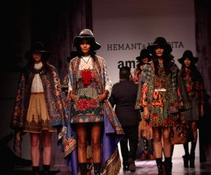 Amazon India Fashion Week - Hemant and Nandita