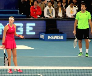 IPTLIndian Aces vs UAE Royals - mixed doubles