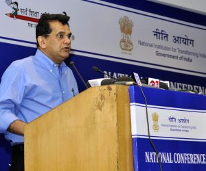 National Conference on Good Practices in the Social Sector Service Delivery - Arvind Panagariya & Amitabh Kant