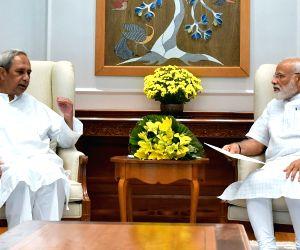 New Delhi: Odisha Chief Minister Naveen Patnaik calls on Prime Minister Narendra Modi, in New Delhi on June 11, 2019. (Photo: IANS/PIB)