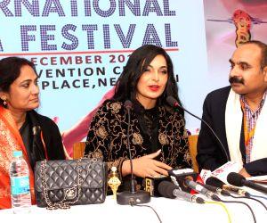 Meera Ali promotes 'HOTAL'