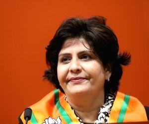Paralympic medallist Deepa Malik joins BJP