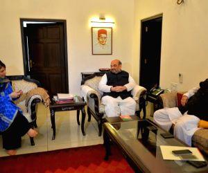 Mehbooba Mufti-Amit Shah meet