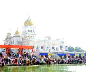 Gurudwara Bangla Sahib - Guru Nanak Jayanti