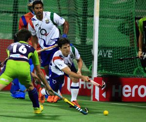 HIL - Delhi Waveriders Vs Uttar Pradesh Wizards
