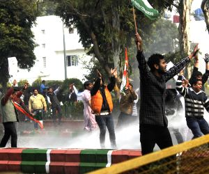 Youth Congress demonstration against Ravi Shankar Prasad