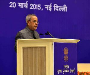 President Mukherjee inaugurates National Safety Awards (Mines) for the years 2011 and 2012