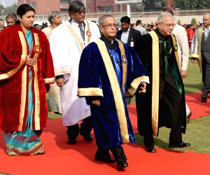 President Mukherjee addresses at the Annual Convocation of Jamia Millia Islamia