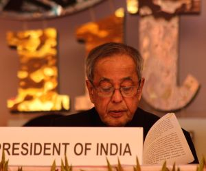President Mukherjee inaugurates IITF  2014