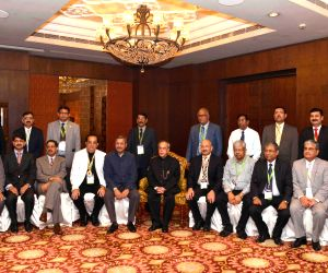 Pranab Mukherjee at the inaugural ceremony of the NIC - 2015