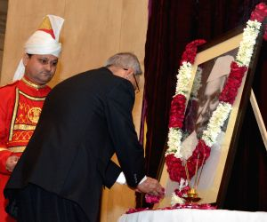 President Mukherjee pays tribute to Dr. Rajendra Prasad on his birth anniversary