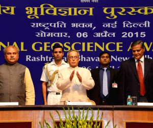 National Geoscience Awards 2013