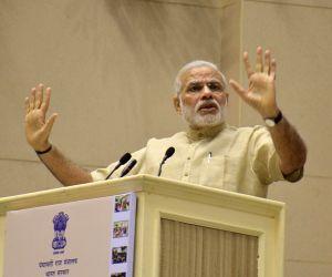 PM Modi National Panchayati Raj Day function