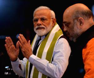 Modi to fight from Varanasi again, Shah Gandhinagar