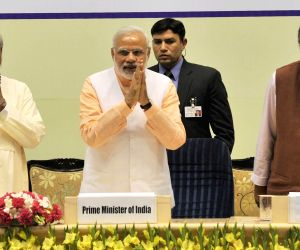 Modi addresses at a Christian programme