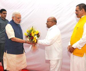Foundation stone laying ceremony of Dr. Ambedkar International Centre - PM Modi