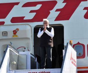 Modi embarks on his three nation tour
