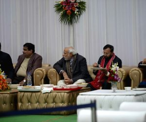 Modi, Gadkari, Javadekar attend Paswan's Sankranti Milan programme