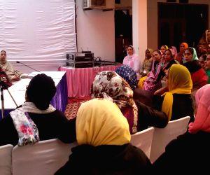 Bibi Jagir Kaur during a meets women wing of SAD