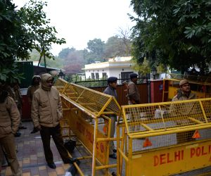 Security beefed-up outside Shashi Tharoor's residence