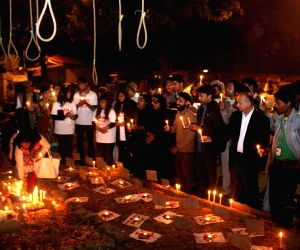 Candlelight vigil to condemn the 2012 Nirbhaya gangrape