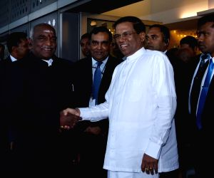 Sri Lankan President arrives in India