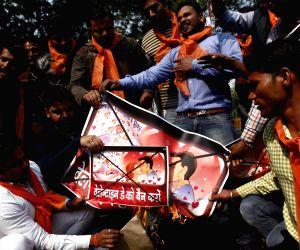 Hindu Sena demonstration