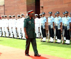 New Delhi: Tanzanian military chief meets Air Chief Marshal Arup Raha
