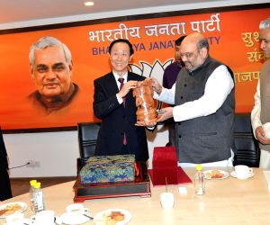 Chinese leader during a meeting with BJP chief