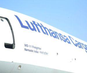 'Namaste India'-  Lufthansa freighter aircraft
