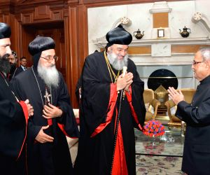 Syrian Orthodox Church head calls on President Mukherjee
