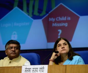 Ravi Shankar Prasad, Maneka Gandhi launch website to trace missing children