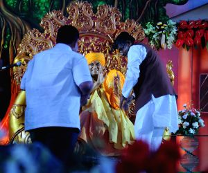 Guruvanand Swamiji during his nirjala sadhna