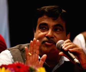 Gadkari during a programme