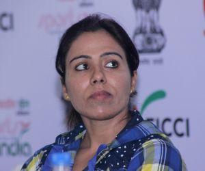 Sarita Devi during a FICCI programme
