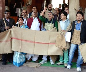 Trinamool Congress MPs' demonstration