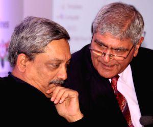 Manohar Parrikar at an ASSOCHAM conference