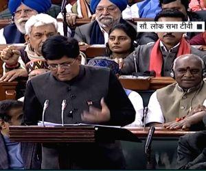 Piyush Goyal praises 'Uri...' during Budget 2019