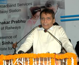 Launch of Wi-Fi Broadband services for public at New Delhi railway station