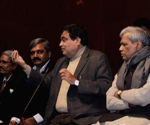 Press conference - Nitin Gadkari, Satish Upadhyay