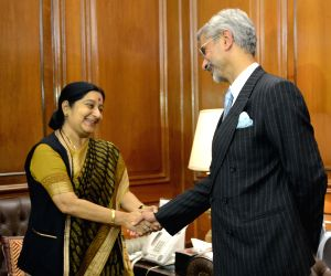 S. Jaishankar took charge as new foreign secretary
