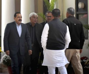 BJP leaders meet to discuss Govt. formation on J&K