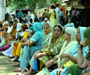 Anti-Sikh riot victims' protest
