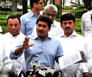 Jaganmohan Reddy calls on PM