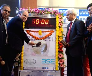 New India Assurance Company - IPO listing ceremony