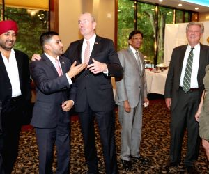 New Jersey: Assemblyman Raj Mukherji hosts fundraiser for Phil Murphy