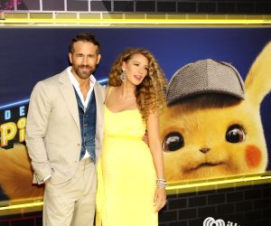 "New York: Ryan Reynolds, Blake Lively at the premiere of ""Pokémon: Detective Pikachu"